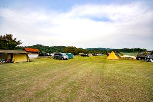 アットホームなオートキャンプ場のイメージ